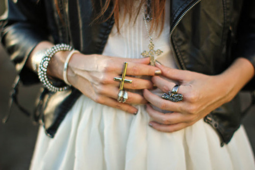 bracelet, bracelets, cross, fashion, girl