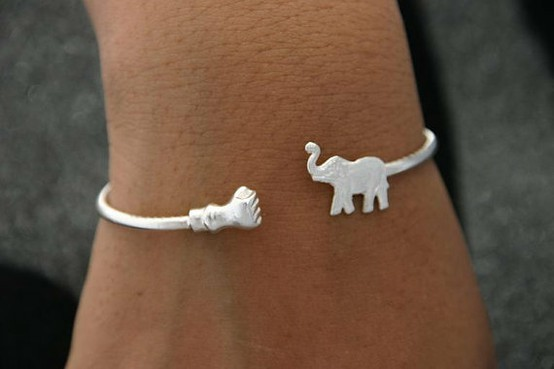 bracelet, cute, elephant, fashion