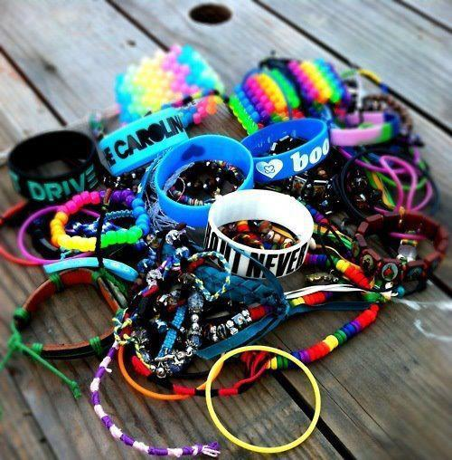 bracelets, colourful, cool, love lol