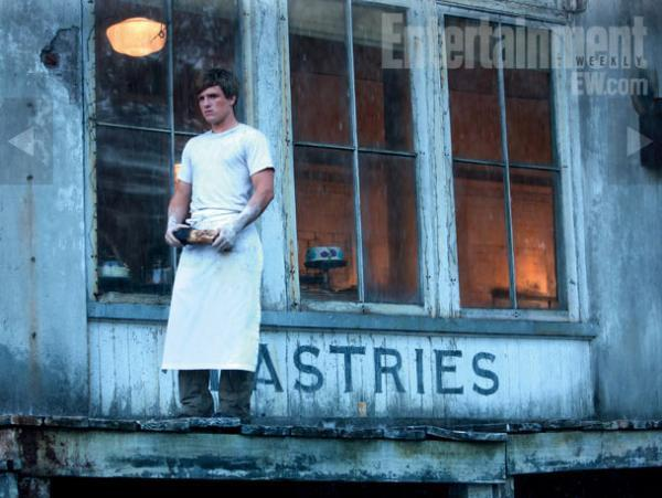 bread, movie, peeta mellark, the hunger games