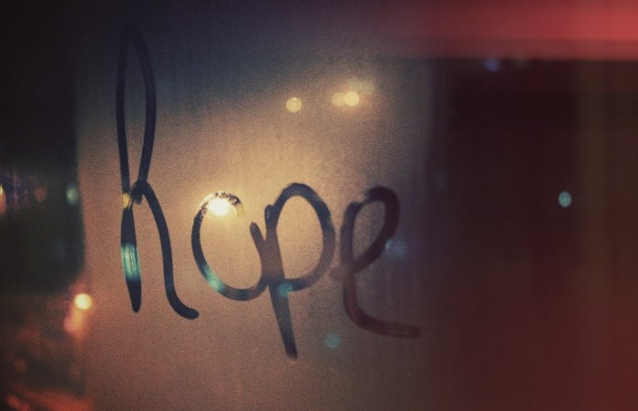 breath, hope, light, love, night