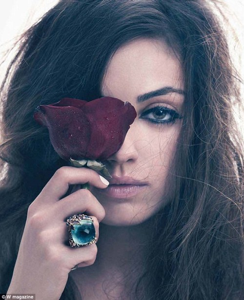 brunette, flowers, girl, ring, rose, woman