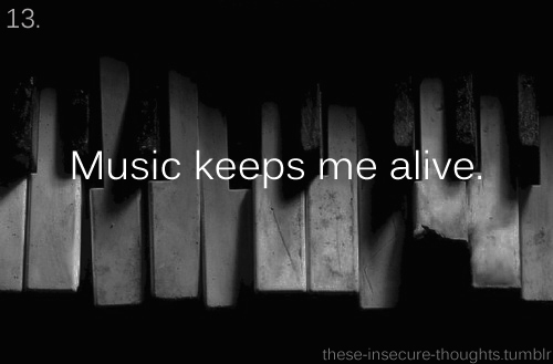 b/w, black and white, music, music keeps me alive, photograph