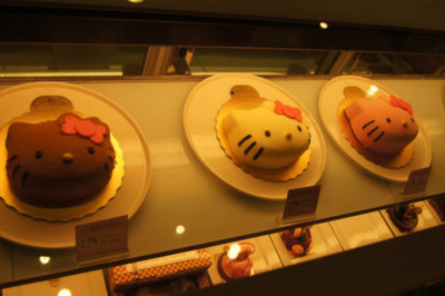 cakes, cute, hello kitty, photography, pretty