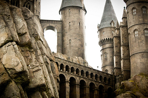 castle, florida, harry potter, hogwarts, magic