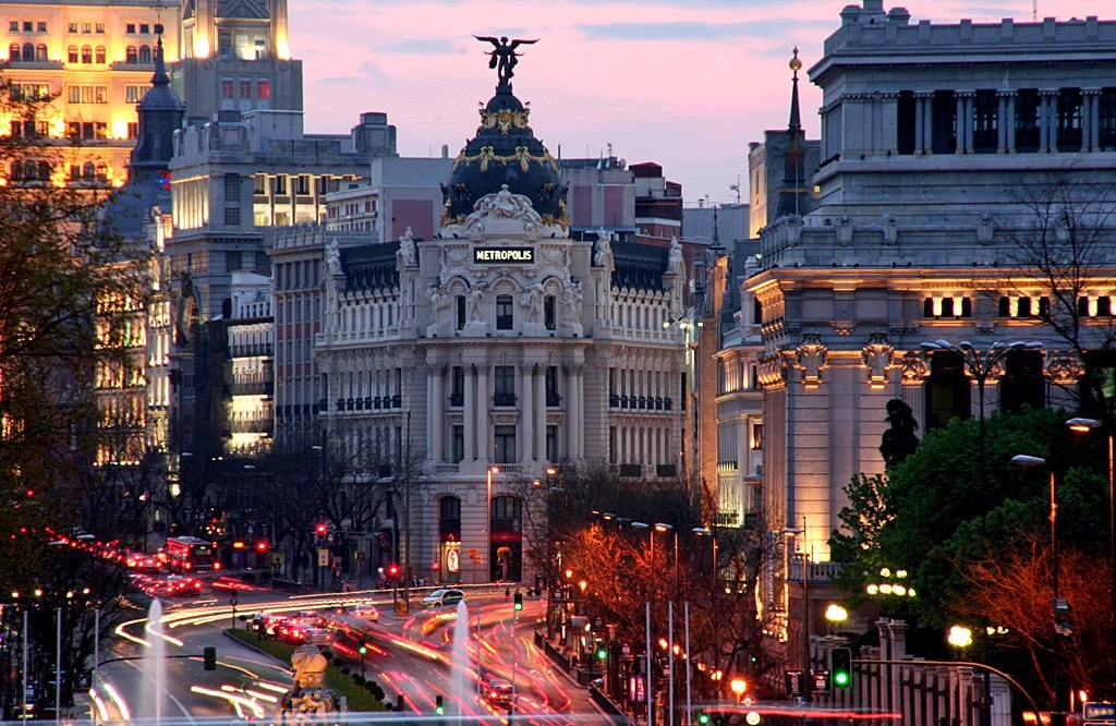 city, madrid, nails, photography, spain