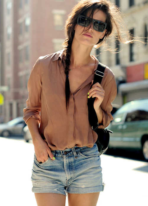 clothes, fashion, girl, glasses, moda, woman