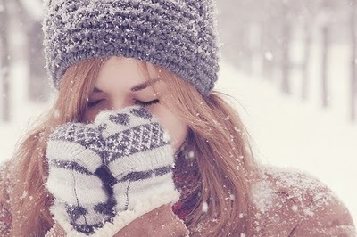 cold, cool, frio, girl, hat