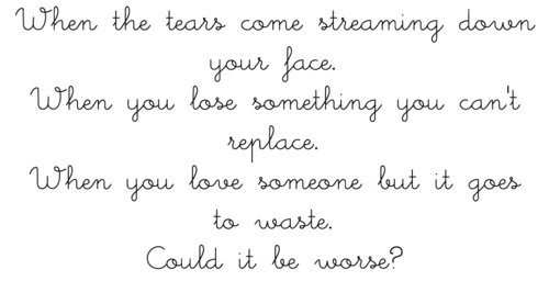 coldplay, fix you, quotes, text - image #434723 on Favim com