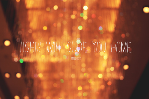 coldplay, guide, home, lights, love