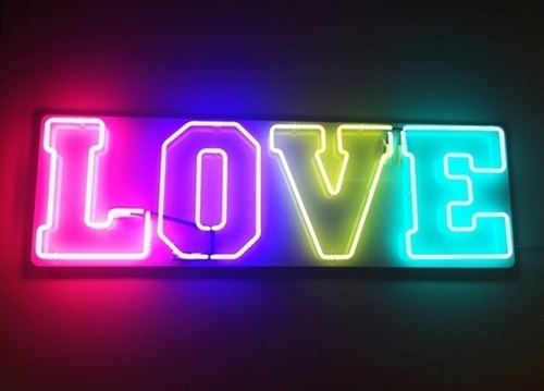 colorful, light, love