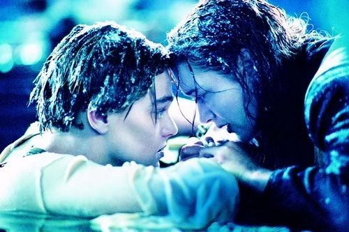 couple, cute, frio, gelo, love, titanic
