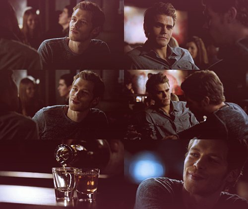 couple, joseph morgan, klaus, klefan, lord, niklaus, paul wesley, stefan salvatore, tvd, vampire diaries