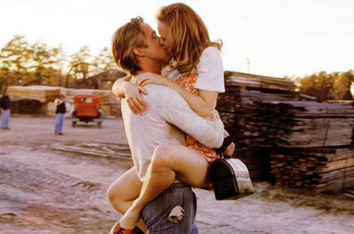 couple, kiss, the notebook