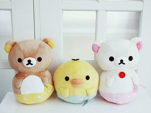 cute, doll, japan, japanese, kawaii, kiiroitori, korilakkuma, plush, rilakkuma, san-x