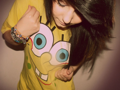 cute, girl, hair, spongebob, super cutre