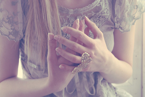 cute, girl, hands, ring, rings