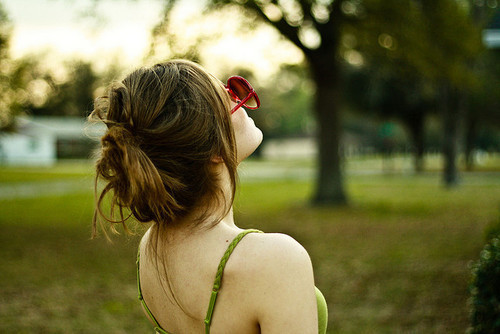 cute, girl, nature, photograph