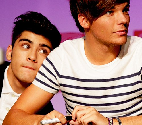 cute, louis, louis tomlinson, one direction, zayn