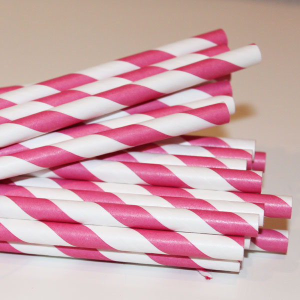 cute, pink, retro, straws