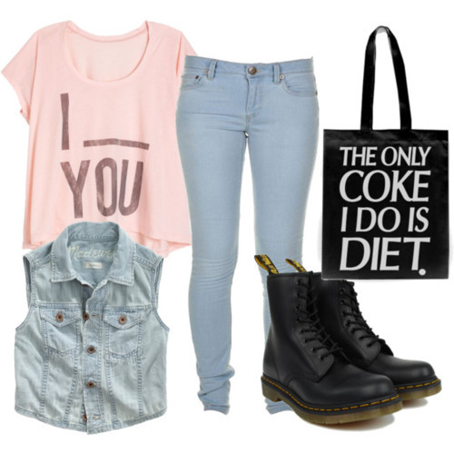 Outfits with Boots on Pinterest | Doc Martens, Combat Boots and Dr ...
