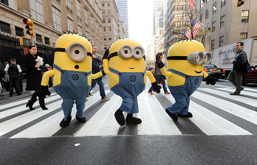 despicable me, meu malvado favorito, photography, street, yellow