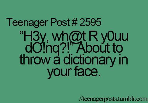 dictionary, lol, teenager post