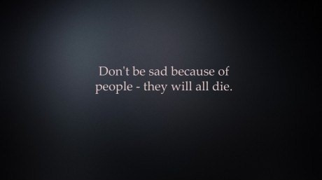 die, funny, people, quote, sad