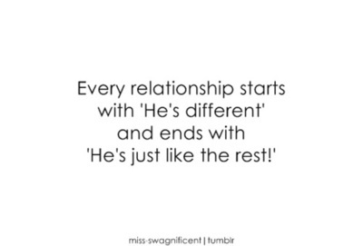 different, ends, every, love, relationship