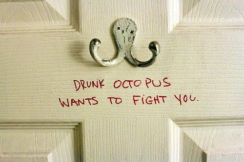door, hilarious, quote, white