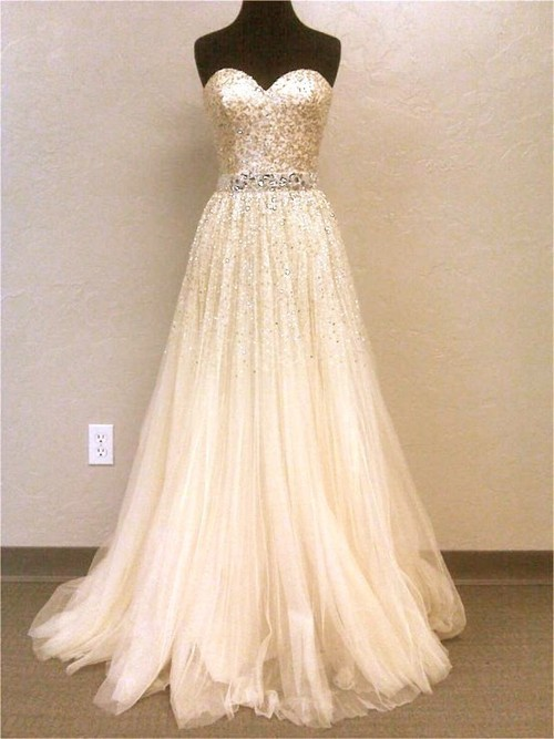 dress myfutureweddingdress sparkle wedding image