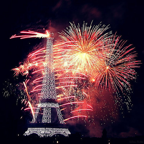 eiffel, fire works, firework, fireworks, france