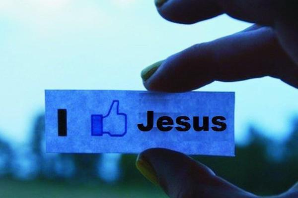 facebook, jesus, like, love, typography