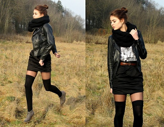 fashion, girl, nature