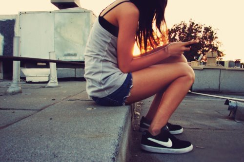 fashion, girl, nike, summer, sun