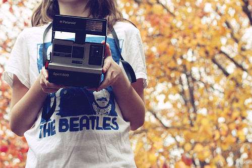 fashion, girl, photography, the beatles, vintage