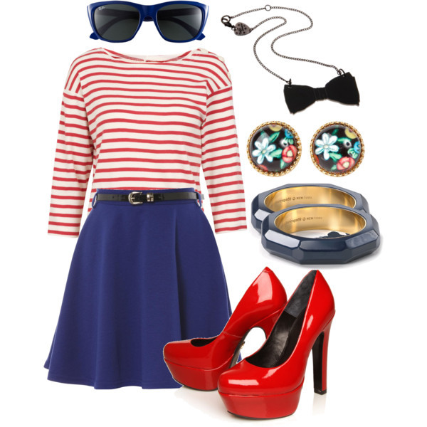 fashion, look, navy, polyvore, style