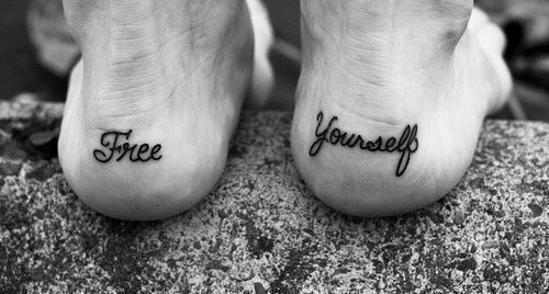 free, tattoo, yourself
