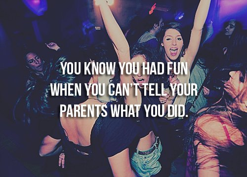 fun, girls, party, quote