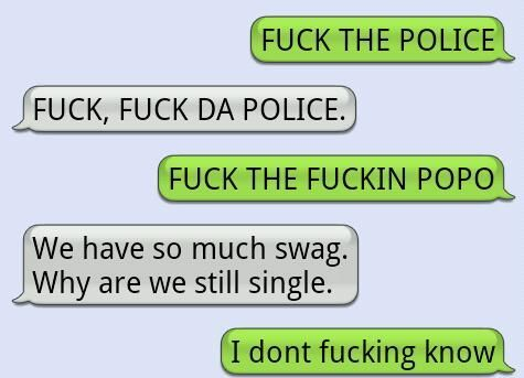funny, police, swag