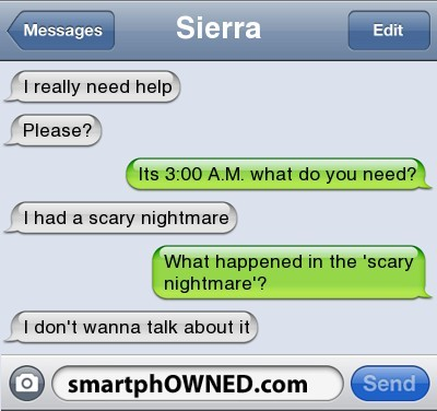 funny, smartphowned, text