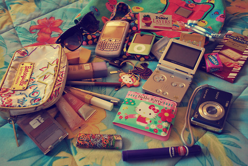 girl, ipad, ipod, makeup, nail varnish, phone, photo, photography, pink