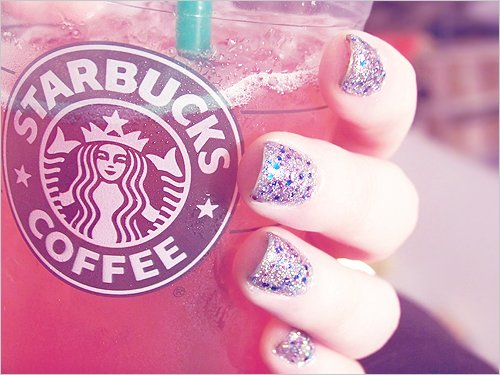 girl, nailpolish, nails, pink, smile