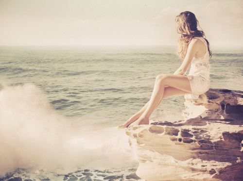 girl, photography, pretty, sea, summer