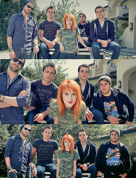 hayley williams, jeremy davis, josh farro, paramore, taylor york