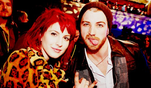 hayley williams, jeremy davis, paramore
