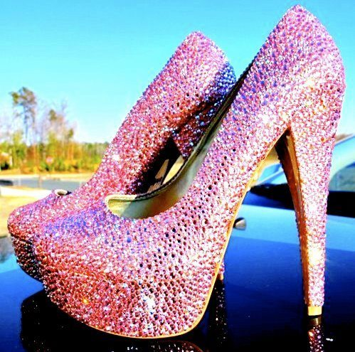 high heels, pink, sexy, shoes