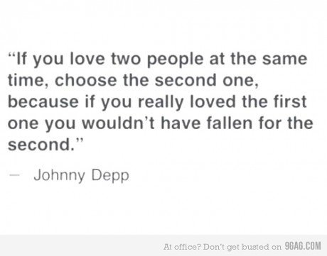 johnny depp, love, text