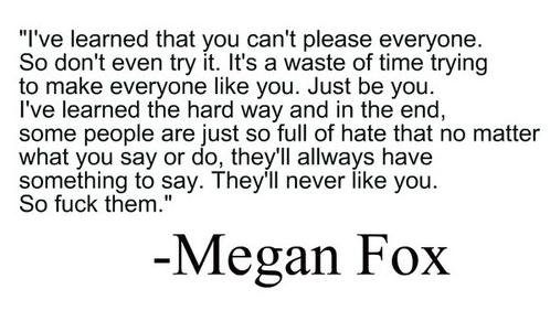 megan fox, qoute, text