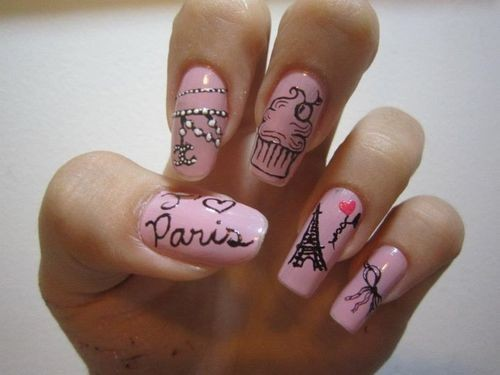 nail, nails, paris